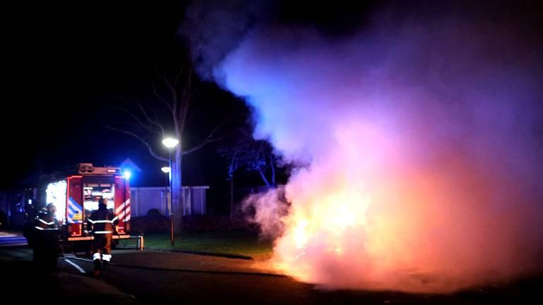 Auto door brand verwoest in Schijndel