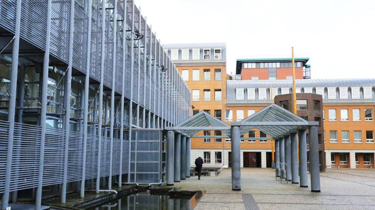 De rechtbank in Den Bosch (archieffoto: Karin Kamp).
