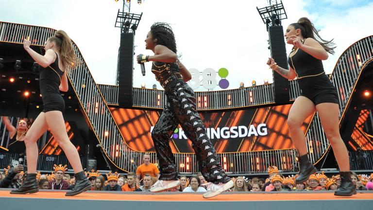 Koningsdag 2019 op het Chasséveld in Breda (foto: ANP).