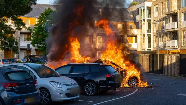 Er liepen meer wagens gevaar (foto: Iwan van Dun/SQ Vision Mediaprodukties).