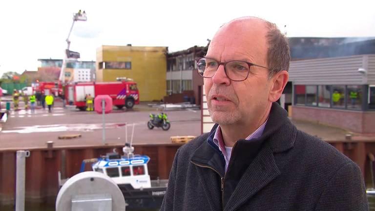 Loco-burgemeester Hans Tanis