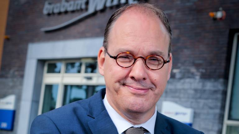 Rob van Dongen is negen weken directeur van Brabant Water (foto: Wim Roefs).