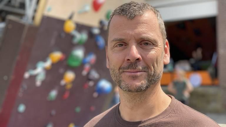 Adri Groenendaal, mede-eigenaar van de Bossche Boulders (foto: Jan Peels).
