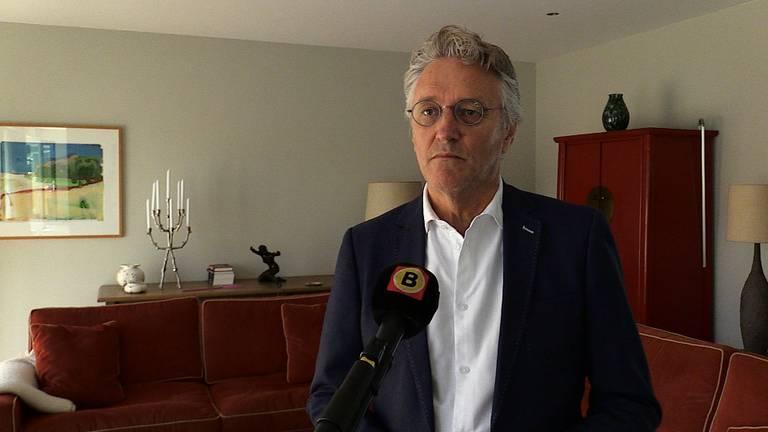 Burgemeester Jorritsma.