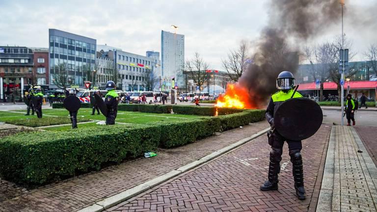 Het strijdtoneel in Eindhoven eind januari (foto: SQ Vision).