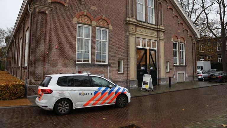 Veilinghuis in Den Bosch overvallen (foto: Bart Meesters).