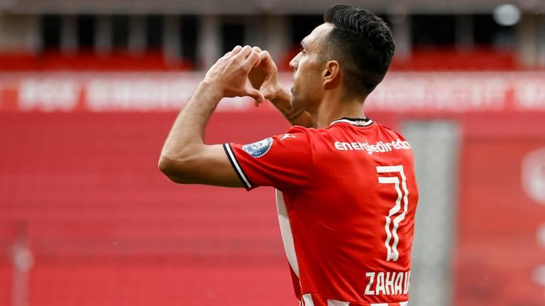 Eran Zahavi scoorde na een zuur onrustige week voor hem en zijn familie (foto: ANP).
