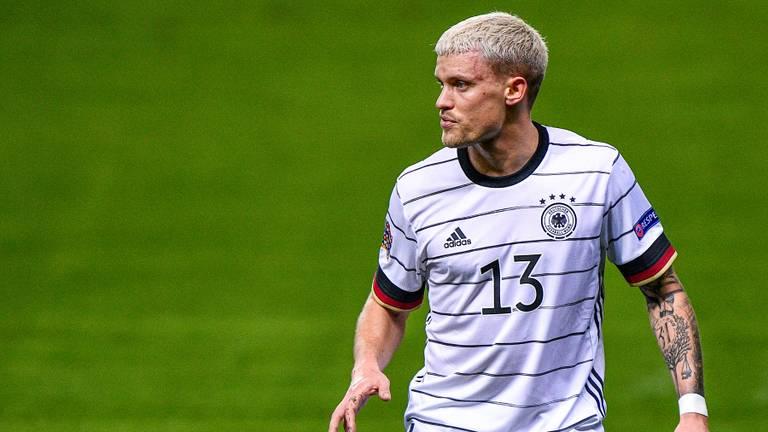 Philipp Max maakte zijn debuut voor Duitsland (foto: OrangePictures).