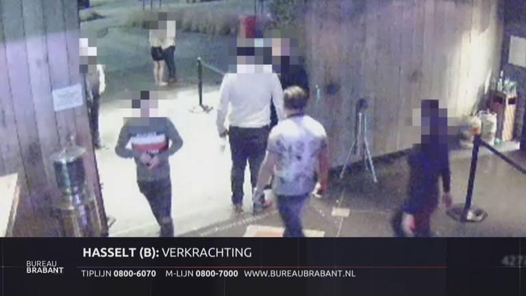 De verdachte (midden) met het rechts het slachtoffer (beeld: Bureau Brabant).