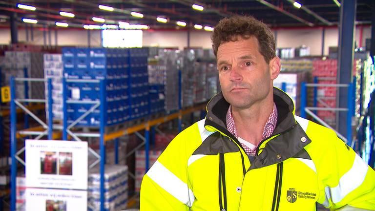 Mark Jebbink van de afdeling planning van Swinkels Family Brewers