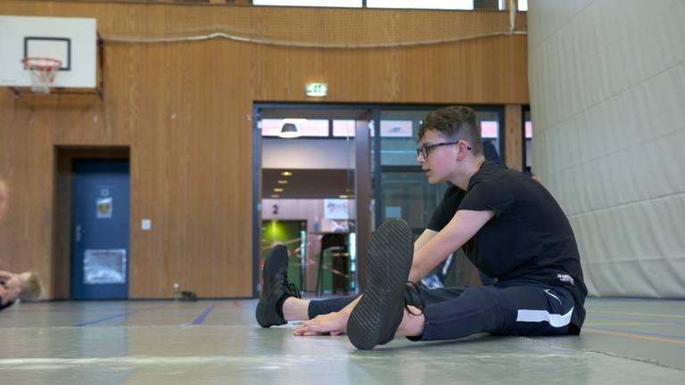 Breakdance-leraar Nillis.