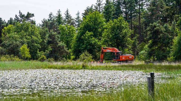 Zoeken op de Strabrechtse Heide (foto: Dave Hendrinks/SQ Vision).