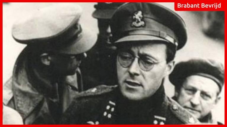 Prins Bernhard in zijn uniform als commandant Binnenlandse Strijdkrachten.