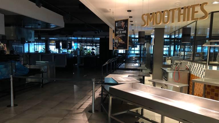 La Place op Eindhoven Airport is gesloten.