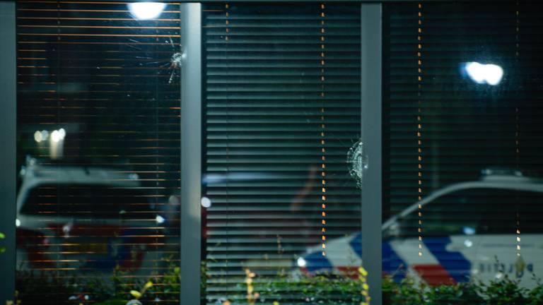 Huis beschoten in Berkel-Enschot (foto: Jack Brekelmans/SQ Vision)