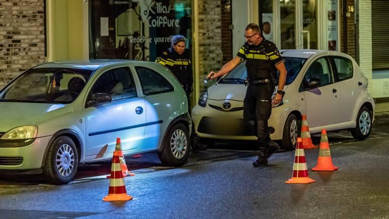De politie doet onderzoek na de schietpartij in Tilburg (foto: Jack Brekelmans/SQ Vision).