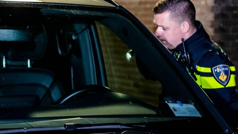 Waarom een van de passagiers in de taxi het vuur opende is niet duidelijk (foto: Jack Brekelmans).