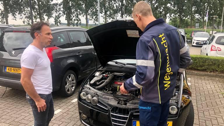 """Diagnose van de Alfa van Joost van Kempen: """"De multiriem is gebroken"""""""