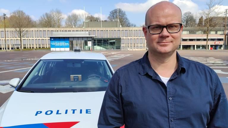 Maarten Brink, voorzitter van politiebond ACP Zeeland-West-Brabant.