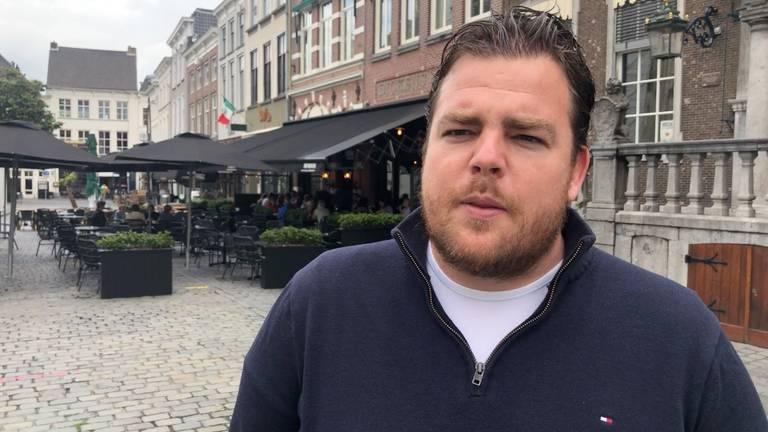 Johan de Vos van Koninklijke Horeca Nederland afdeling Breda.