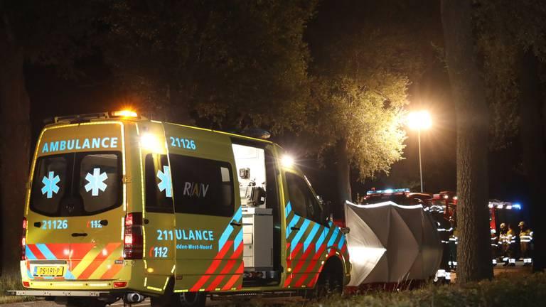 Het ongeluk gebeurde op de Volkelseweg in Mill (foto: Marco van den Broek/SQ Vision).