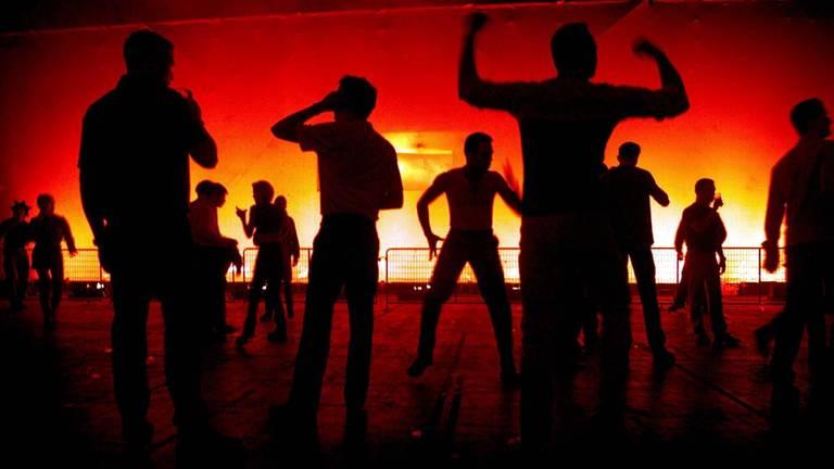 Dansende mensen (archieffoto: ANP)