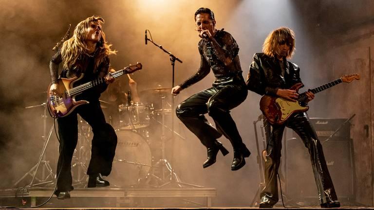De band Måneskin (foto: Fabian Sommer/DPA).