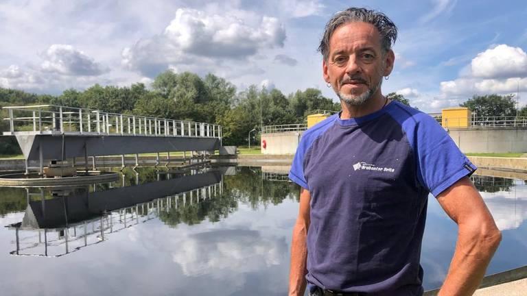 Hans Mollen, senior adviseur procestechnologie van Waterschap Brabantse Delta (foto: Erik Peeters).