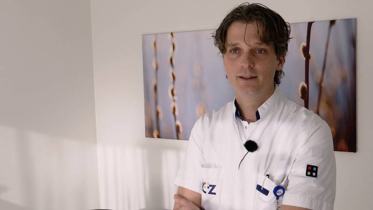 Chirurg Robert Matthijsen (foto: Erik Peeters).