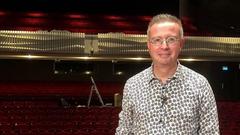 Directeur Jan-Hein Sloesen van Theater De Kring in Roosendaal. (Foto: Erik Peeters)