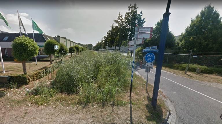 Een deel van het Gazellepad in Veghel (afbeelding: Google Streetview).