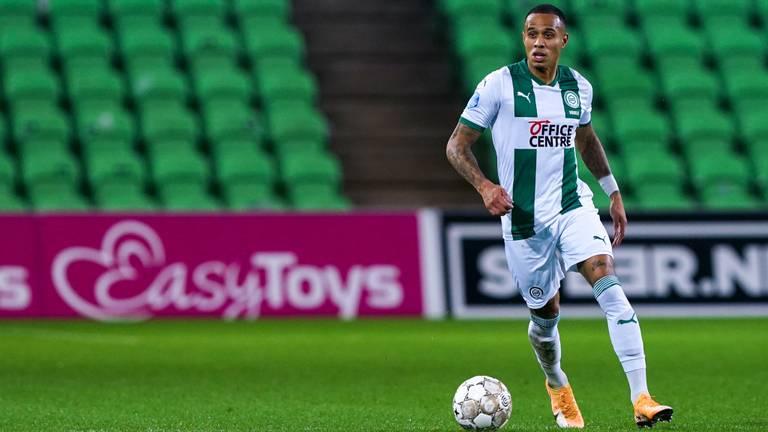 Damil Dankerlui na 2,5 jaar Willem II nu in het groen-wit van FC Groningen (foto: OrangePictures).