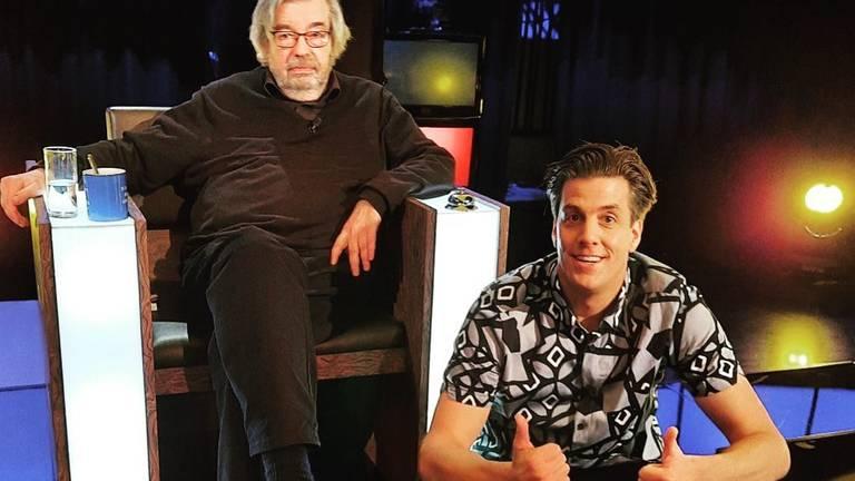 Rob Kemps met Maarten van Rossum (Foto: Rob Kemps/Instagram)
