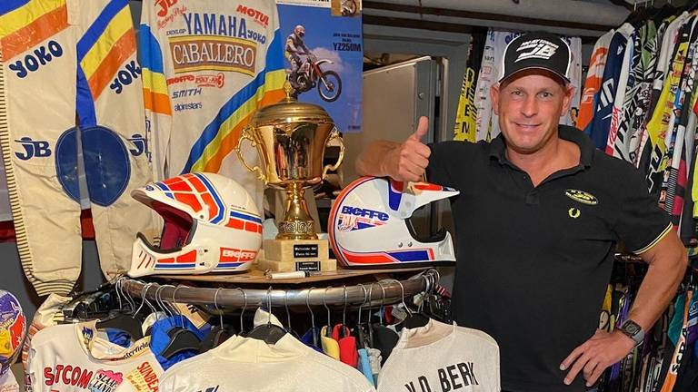 Oud-motorcrosser John van den Berk.