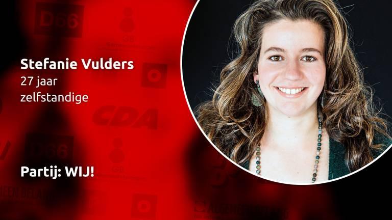 Stefanie Vulders van WIJ!. (Foto: Martine van der Moolen)