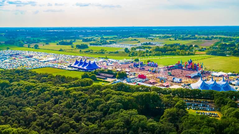 Het terrein van Intents Festival in 2019 (foto: Intents Festival)
