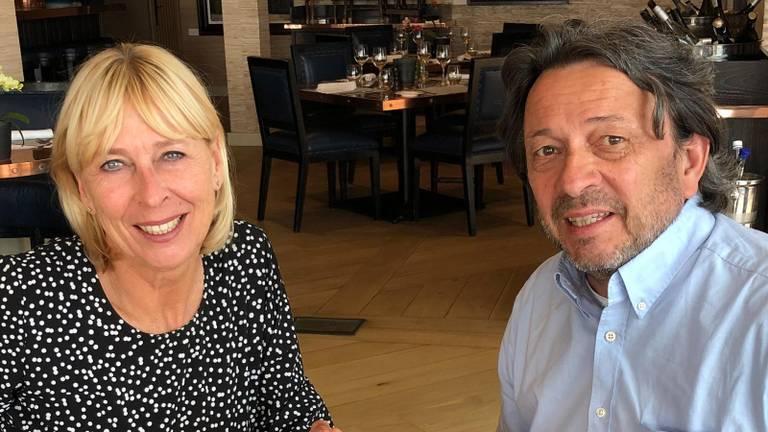 Hélène Hammerstein en Terry van den Berg (eigen foto).