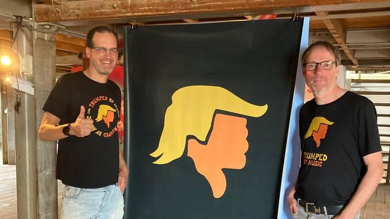 David Grover (links) en Frank van Osch.