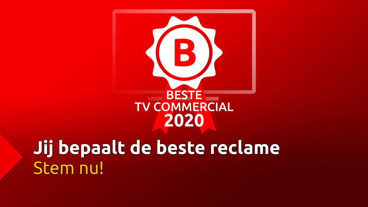 Verkiezing Beste TV Commercial 2020 - Stem nu